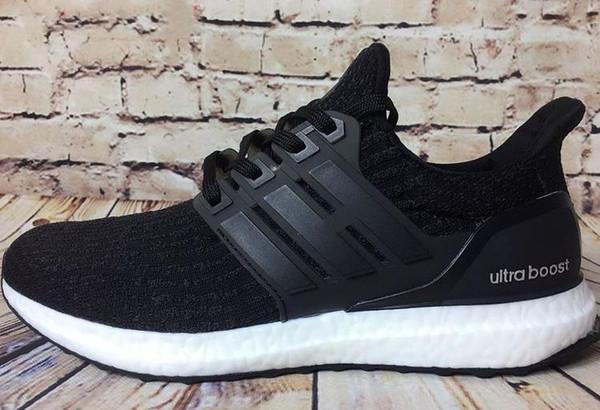 Toptan 2019 Ultra boost Koşu Ayakkabıları 3.0 4.0 Erkek Kadın Şerit Balck Beyaz Oreo Tasarımcı Sneakers Ultraboost Spor Ayakkabı Eğitmenler 09