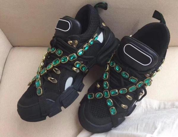 Çıkarılabilir kadınlar erkekler eğitmen Dağı ile 2019 Yeni Tasarımcı sneaker FlashTrek spor ayakkabı Ayakkabı Erkek Açık Yürüyüş botları d5 Tırmanma FlashTrek