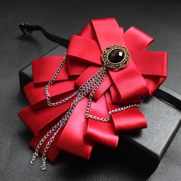 모조 다이아몬드 나비 넥타이 2