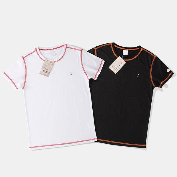 Mens designer Tshirt new summer hot breathable Tshirts champions pattern logo T-shirt trim casual comfort T-shirts cotton high quality shirt