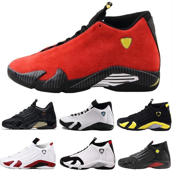 Compre NIKE Air Jordan 14 Mejor Calidad 2019 14 Para Hombre 14s Zapatos De Baloncesto Mujeres Hombres Diseñador Wave Runner Cestas Retro Entrenadores
