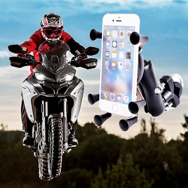 Metal Bike Mobile Stand Support Iphonex 8 7 6s Plus For Xiaomi Gps Motorcycle Phone Holder Soporte Movil Moto J190507