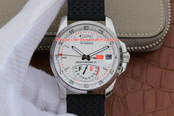 2 Style Hot Selling Best Quality Watch 44mm 168457-3002 MilleMiglia GT Sapphire 316L Steel Top Movement Mechanical Automatic Mens Watches