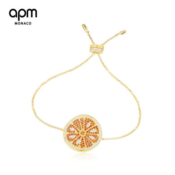 luxury Charm Bracelets jewelry designer bracelets for women 18k Gold Plated Swarovski crystal diamond 22cm adjustable