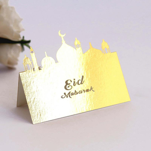 Name Card Table Seating Card Vintage Reception Table Ramadan Party Eid Mubarak Place Cards Wedding Anniversary Party Decor Send Cards Send Free
