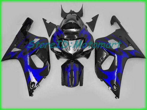 Kit carenado para SUZUKI GSXR600 750 GSXR 600 GSXR 750 K1 01 02 03 2001 2002 2003 Conjunto carenados SX38