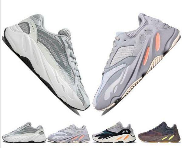 2019 tasarımcılar v2 Dalga Koşucu Leylak EE9614 B75571 koşu ayakkabıları En Kaliteli Erkek Kadın B75571 Dikiş Renk Atletizm erkek ABD 5-11.5