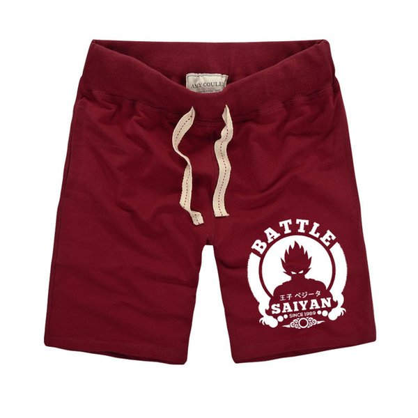 Dragon Ball Shorts Uomo Estate Pure Cotton Sweat Casual Maschio Pantaloncini Diritti Uomini Buttman Shorts Bermuda Masculina Marchio di Abbigliamento Y190508