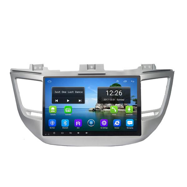Android 4G LTE HD 1080P auto MP3 MP4 Music 4 core 2 GB DDR3 mappa gratuita eccellente radio GPS per Hyundai tucson 2016-2018 10.1 pollice