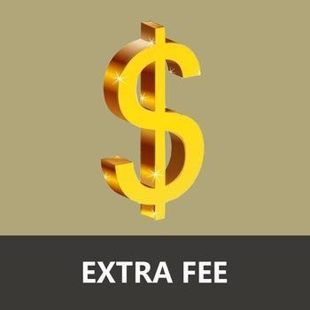 Zusätzliche Versandkosten für den beschleunigten Versand - 1 USD / Bitte wählen Sie 1 Stück, 10 USD / Wählen Sie 10 Stück, 100 USD / Wählen Sie 100 Stück, etc