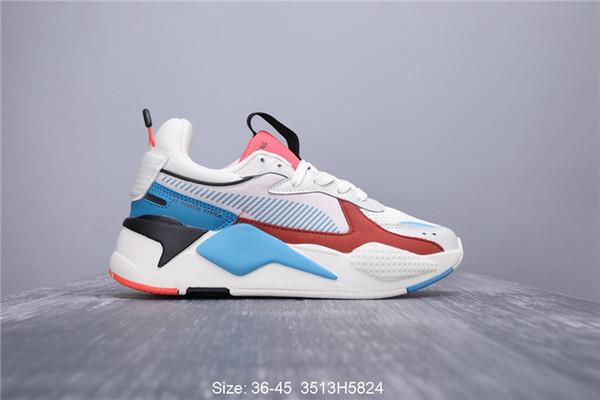 2019 Hasbro RS-X Transformers Uomo donna Scarpe casual bianco blu rosso Toys Release uomo sneakers firmate di marca trainer Chaussures scarpe da uomo