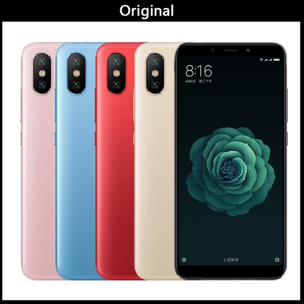 """New Xiaomi Mi 6X 6GB 128GB ROM Smartphone 6 X Snapdragon 660 Octa Core 5.99"""" 18:9 Full Screen 20MP AI Dual Camera 4G Dual SIM"""