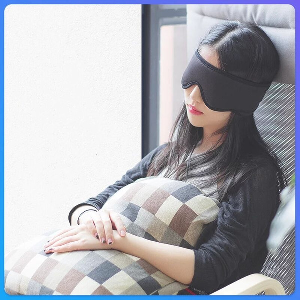 2019 network popular style ins same sleep smart music eye mask silk comfortable sleep breathable skin pressure ear earphone