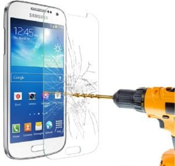 Explosionsgeschützte 0,3 mm Displayschutzfolie Gehärtetes Glas für Samsung Galaxy S3 i9300 i9500 s5 i9600 s6 G9200 s3 mini s4 mini