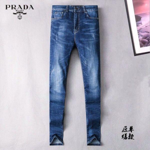 Jeans elasticizzati personalizzati ricamati Jeans uomo 19 tendenze Autunno e Europa New Jeans da uomo 702 56883072