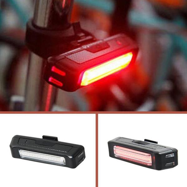 Fahrrad Sicherheitswarnung Rücklicht Rot hinten  Tragbare USB wiederaufladbare