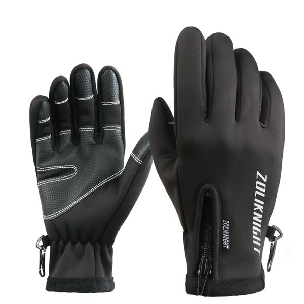 Winter Mens Gloves Winter 30 Warm Gloves All-Weather Windproof Waterproof Glove
