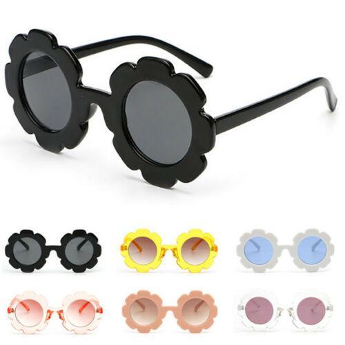 Sun Flower Круглые солнцезащитные очки Cute Boys kid Girls UV400 Детские очки Подарочные очки Спортивные солнцезащитные очки на открытом воздухе KKA7047