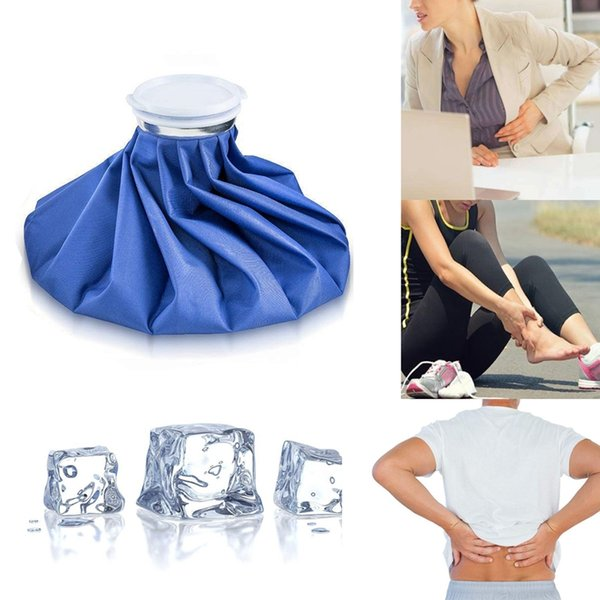 Ice Bag Packs - Set of 3 Hot & Cold Reusable Ice Bags, Instant Relief From Pain And Swelling - Flexible Design to Perfectly Co