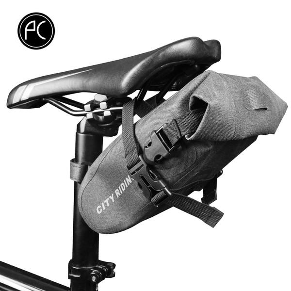 Bolsa de bicicleta PCycling Ultralight Tail Saddle Bag 1.5L Almacenamiento del asiento impermeable MTB trasero Bolsas de bicicleta de carretera Accesorios para ciclismo
