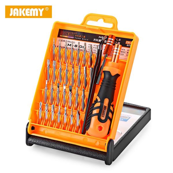 Jakemy präzision schraubendreher set zerlegen laptop handy tablet elektronik öffnung repair tools kit repair tools kit set + b