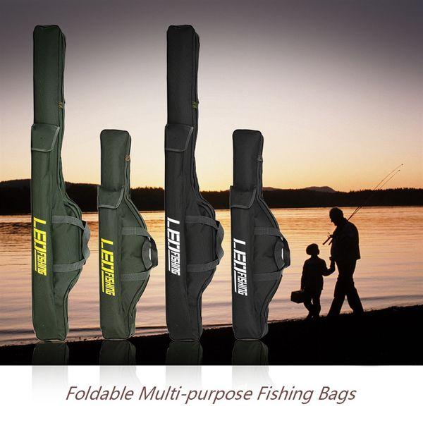 Лео 100 см / 150 см рыболовные сумки складной многоцелевой удочка сумка на молнии чехол рыболовные снасти сумки для хранения сумка держатель 27746 #351926