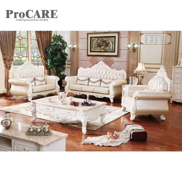 2019 Classic Style Leather Sofas 3 Sectional Modern Sofa Set A950B From  Procarefoshan, $3969.85 | DHgate.Com
