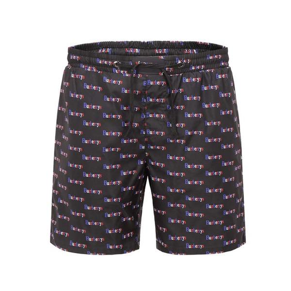 Pantalones cortos estampados coreanos en el verano de 2019 aumento de tamaño de los hombres, cinco pantalones sueltos pantalones de playa usan pantalones casuales de hip hop