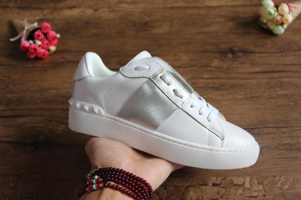 оптовые дешевые мужчины женщины роскошные дизайнерские кроссовки открытые туфли с высоким качеством 9 цветов оригинальный размер коробки 34-46 для продажи S38