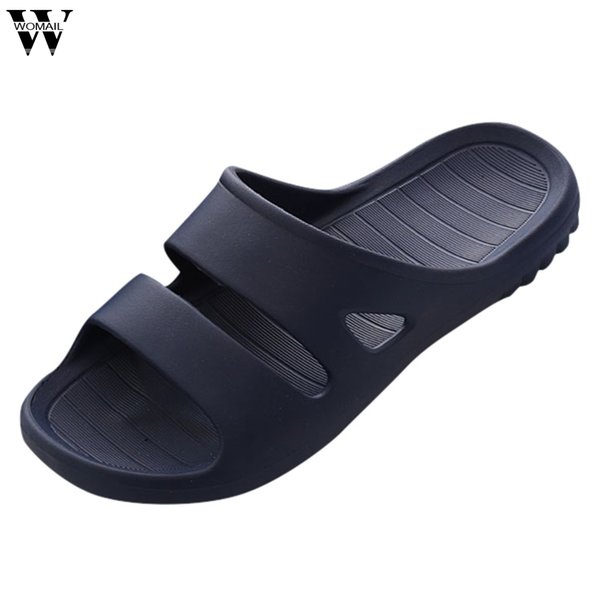 Men Shoes Funny Summer Men&Women Home Indoors Floor Family Shoes Shower Sandals Skidproof Slippers Male