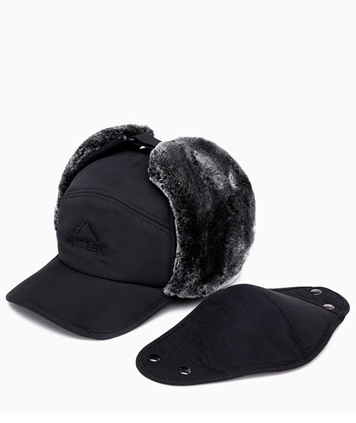 Fashion Men Baseball Cap Old Men/'s Warm Earflaps Peaked Cap Lei Feng Hat Winter