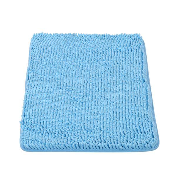 Großhandel 50 80 Cm Rechteckige Weiche Chenille Badteppich Rutschfeste Wasserabsorbierende Shaggy Duschmatte Bathmat Bad Wc Teppich Grau Von Qyww