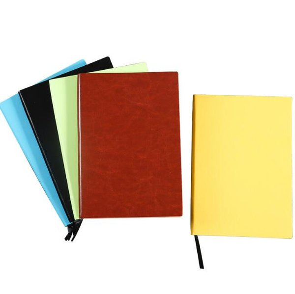 A5 PU Leather Business Notebooks Daily Memos Paper Journal Diary Notebooks Classic Notepads Stationery Office Stationery