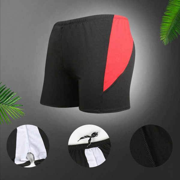 men swimwear quick dry lacing swimsuits surf board beach wear breathable man swimming trunks boxer shorts swim suits