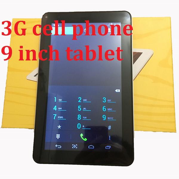3G-Telefon 9 Zoll Tablet PC MTK6572 Android4.4.2 Tablet 512 MB RAM 4 GB Rom IPS-Bildschirm wifi Bluetooth