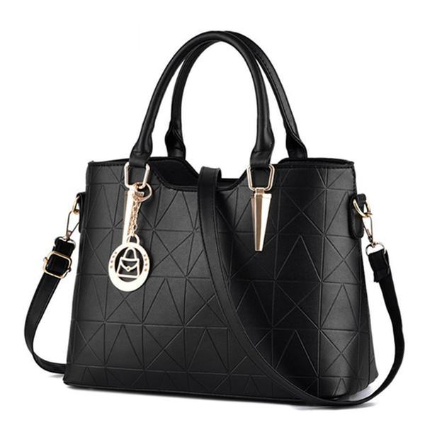 good qualityHandbags Pu Female Bag Metal Sheets Decoration Handbags Sweet Lady Fashion Handbags Elegant Women Shoulder Bags