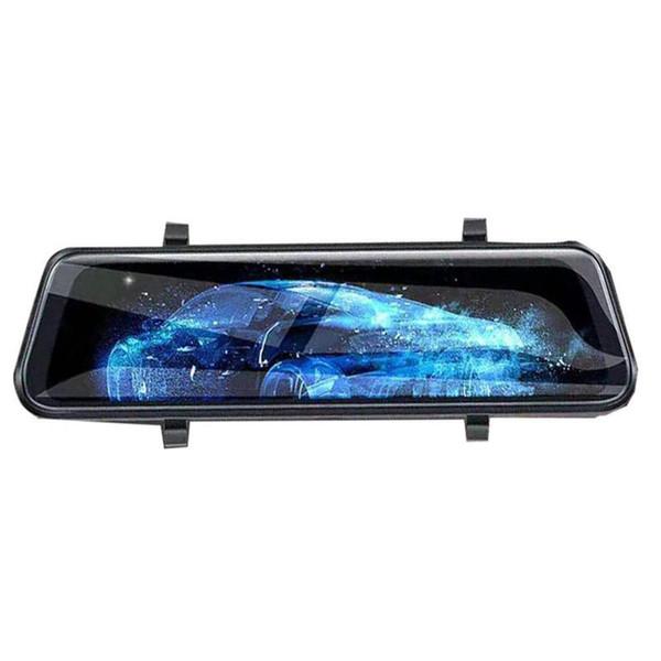 Plein écran streaming Rearview Mirror grand écran tactile tachygraphe avant et arrière double lentille haute définition voiture de vision nocturne