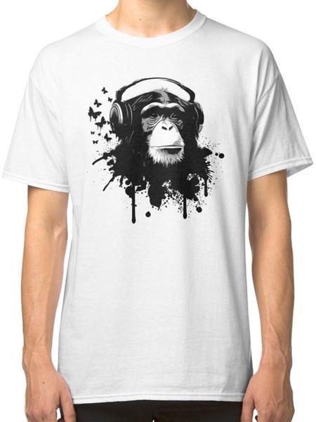Обезьяна бизнес Белый футболка тройники одежда страх косплей liverpoott футболка мужская гордость темный футболка