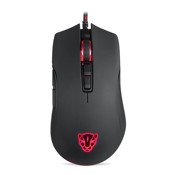 Motospeed V70 Gaming Mouse RGB 12000dpi With 7 Key with PMW3360 Engine 250IPS Black