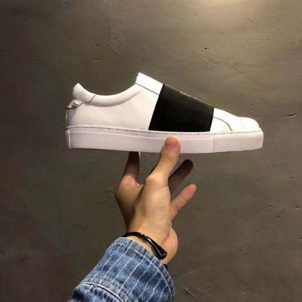Черный ремешок (белый каблук)