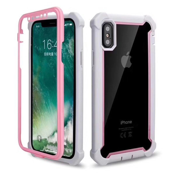 The Latest Hot Selling Item 2 in 1 PC Mobilephone Case for iphone 6 7 8 plus X XR XS Max