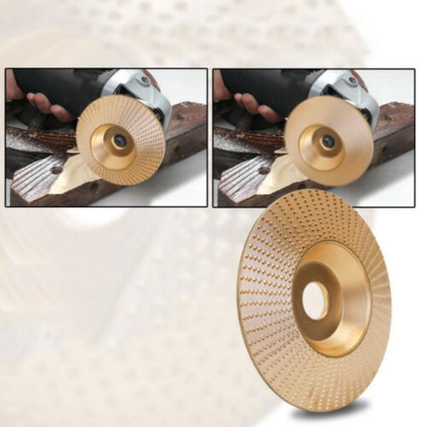 98mm professionnelle Angle Meule de sculpture sur bois rotatif d'outils à main Meule d'or