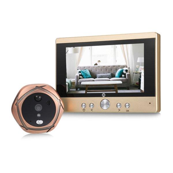SY501 5 polegada TFT LCD Tela Digital Peephole Viewer e Câmera de Segurança Doorbell Night Vision / Detecção De Movimento para iOS Android