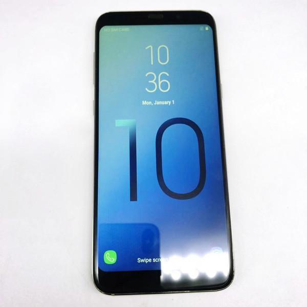 Goophone aS10 Artı 10 artı 10 + 6.3 Inç Akıllı telefon 1 GB / 4 GB Çift SIM 3G WCDMA Gösterisi 4G LTE Cep Telefonu DHL Mühürlü kutu