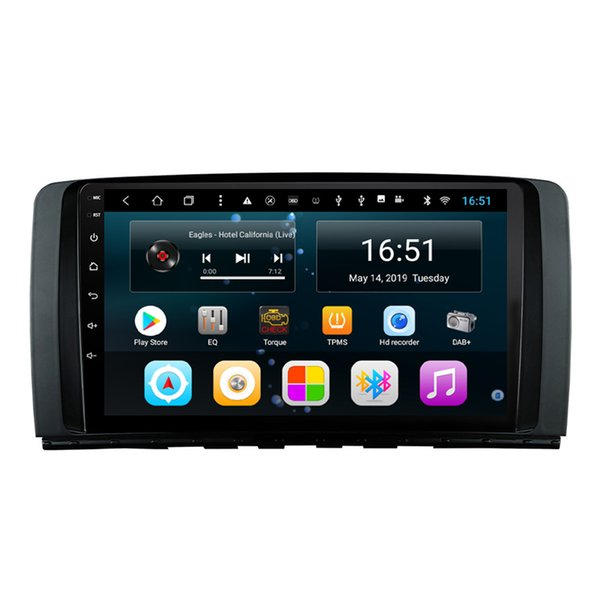 Android 9inch 8-core for Mercedes Benz 2006-2014 class W251 R300 R350 R63 car Multimedia Player Radio excellent bluetooth GPS Wifi Head Unit