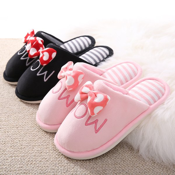 Slippers Warm Winter Shoes Women Lovers Home Slippers Comfort Home Shoes For Women Plus Indoor Shoes Daddy Mom Slippers