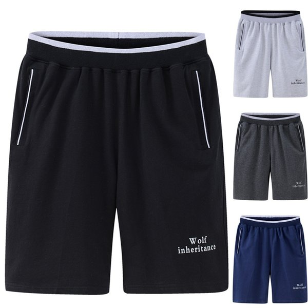 sport pants men fitness Casual sport pants Large size thin section quick-drying Loose Elastic five-point shorts L0423