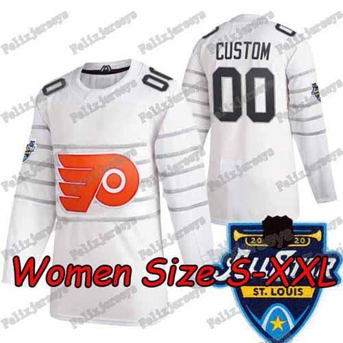 2020 All Star Blanc Femmes: Taille S-XXL