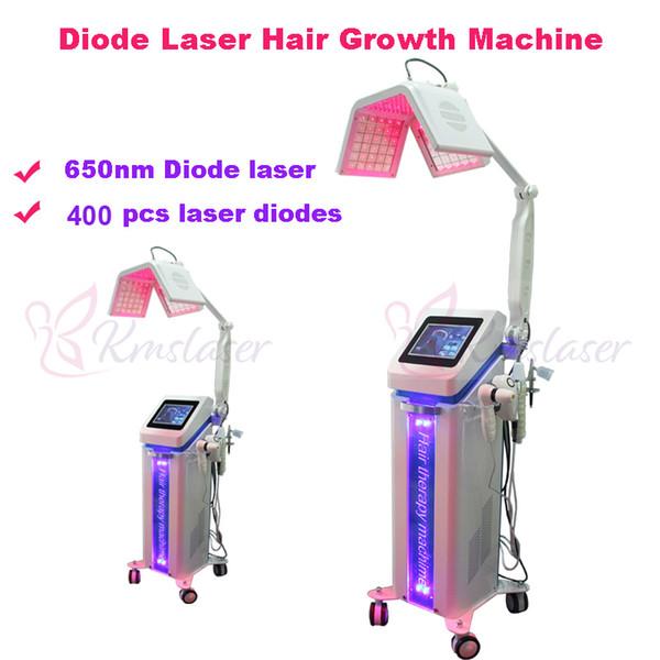 650nm hair growth machine beauty hair loss treatment hair regrowth laser beauty machines comb brush cap 5 handles