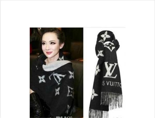 2018 écharpe écharpe de laine cachemire de haute qualité hiver mode hommes de la marque et les femmes en cachemire foulards